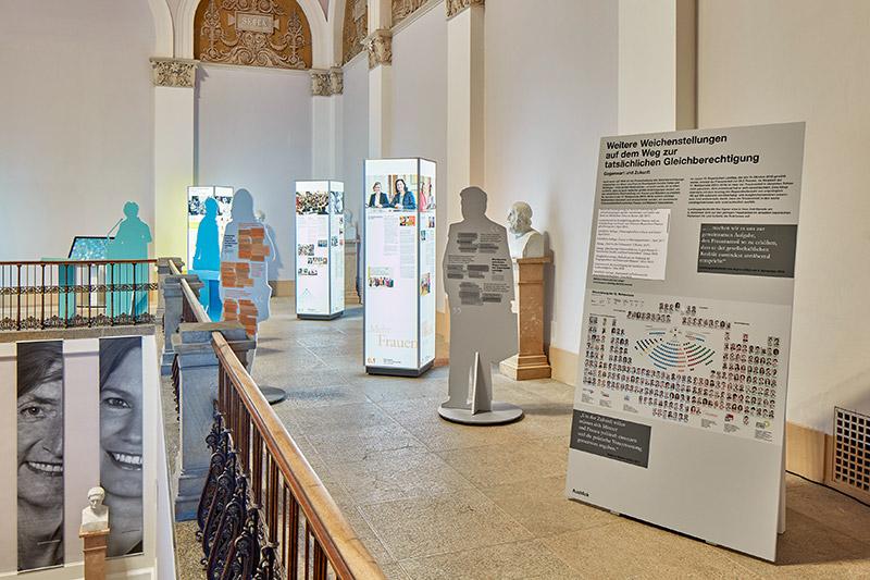 Bayerischer Landtag - Ausstellungseröffnung