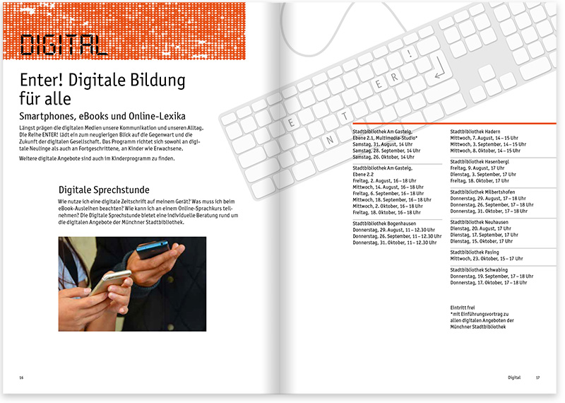 Münchner Stadtbibliothek 1. Quartalsprogramm