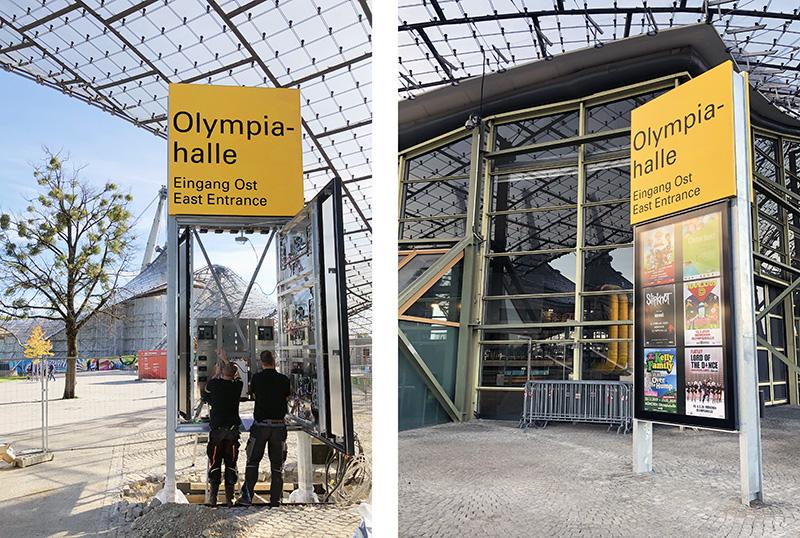 Meldung Olympiahalle München