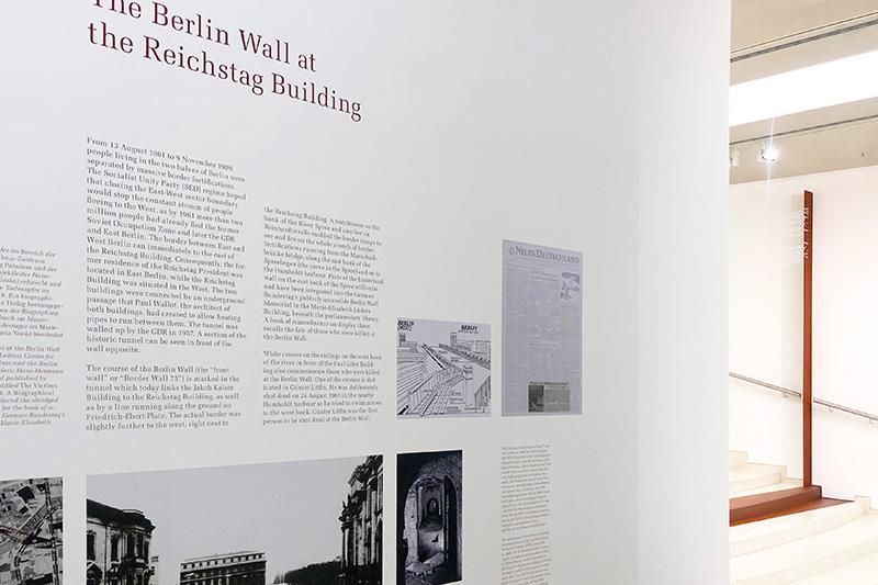 Kennzeichnung Verlauf der Berliner Mauer