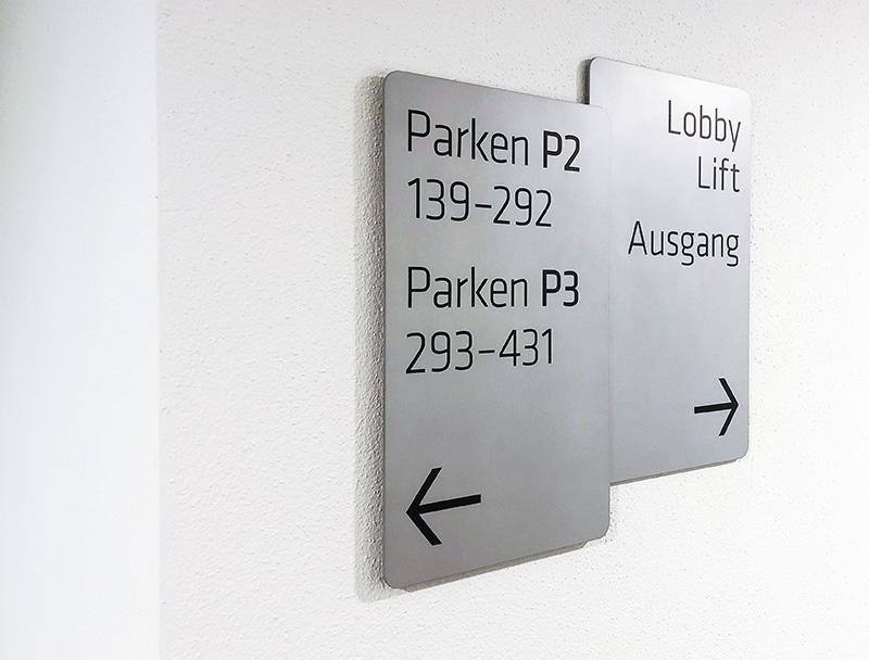 Bavaria Towers Signaletik